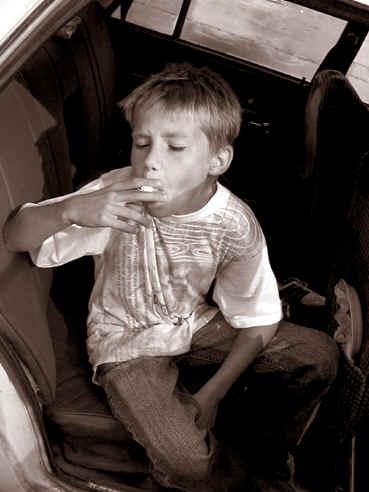 запах табака изо рта у некурящего человека